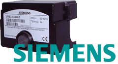 КИП и автоматика Siemens: Автоматы горения LMG, LMO, LME, LMV, LOA, LGD12, LGI16, LAL, LFE1, LGC, LDU11 контроль пламени LFE, LAE10 датчик температуры QAD, Датчики давления QPL, QBM65, QBE61, QBE2002, датчики QGO, FGT-PT1000, QFM, QFA, QRI, QRA