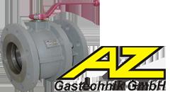 Краны AZ Gastechnik GmbH: Латунный шаровой кран AZ серии D32509, K84, GE2; Краны с кнопкой манометра VE2 / VE3; фланцевые, шаровые KS76.1; краны с высокой термостойкостью HTB