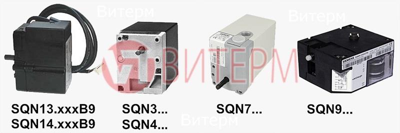 Единый список оборудования Сервопривод Siemens Sqn